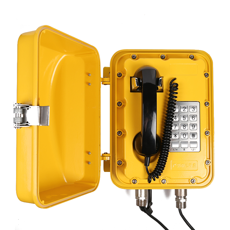 Joiwo Explosion Proof Telephone for Metal Mining Marine Industrial Telephone used in Subway JWAT830 Featured Image