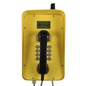 2G/3G/4G GSM Telephone Waterproof LCD Display Telephone