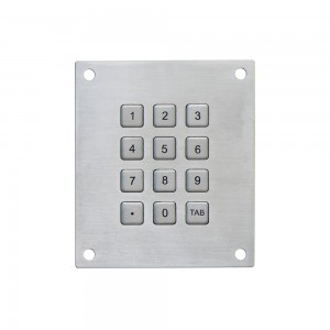 3×4 12 keys digital keypad-B768