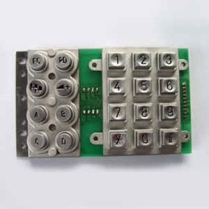Zinc alloy metal keypad-B506