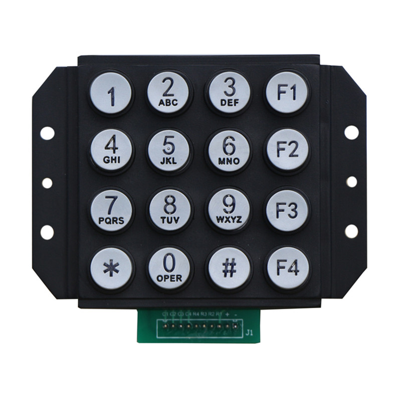 Round buttons illuminated telephone keypad-B664 Featured Image