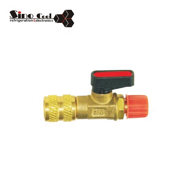 Refrigeration Parts Filling Ball Valve