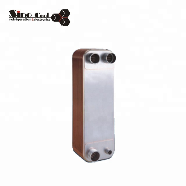 Copper Brazed Plate B3-110 Heat Exchanger For Cold Room
