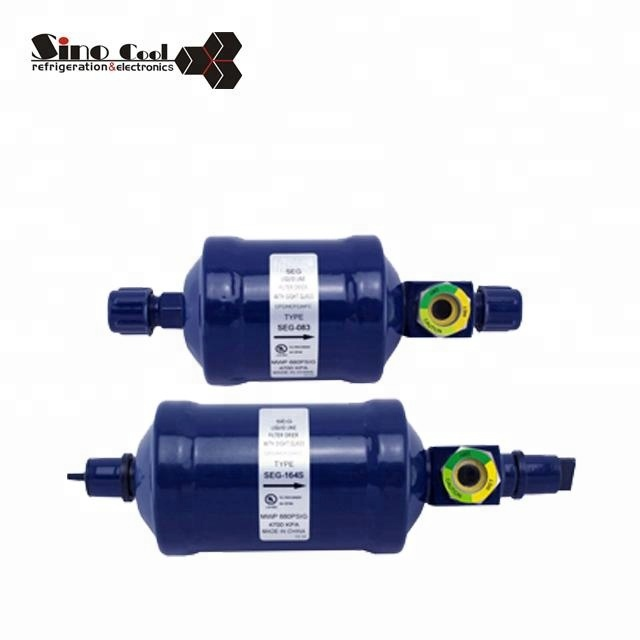 High quality SEG Series drying refrigerant filter drier