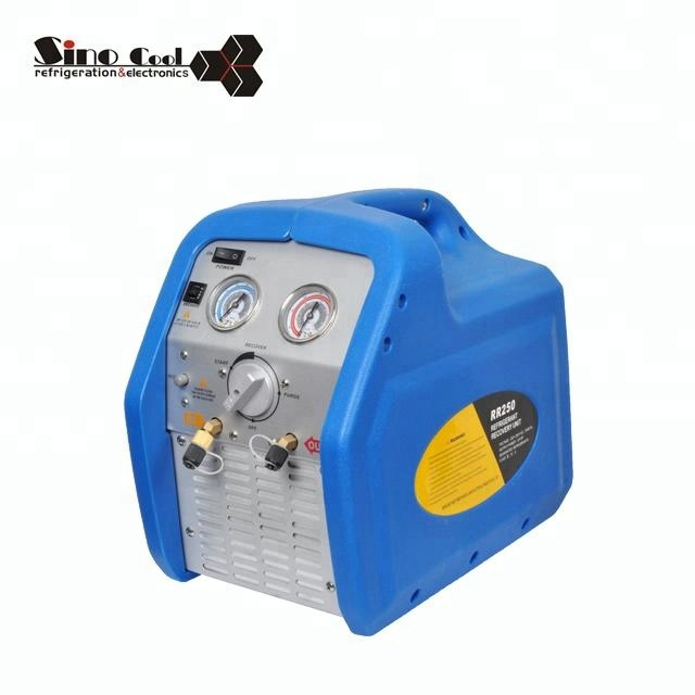 Portable Refrigerant Recovery and Recycling Machine