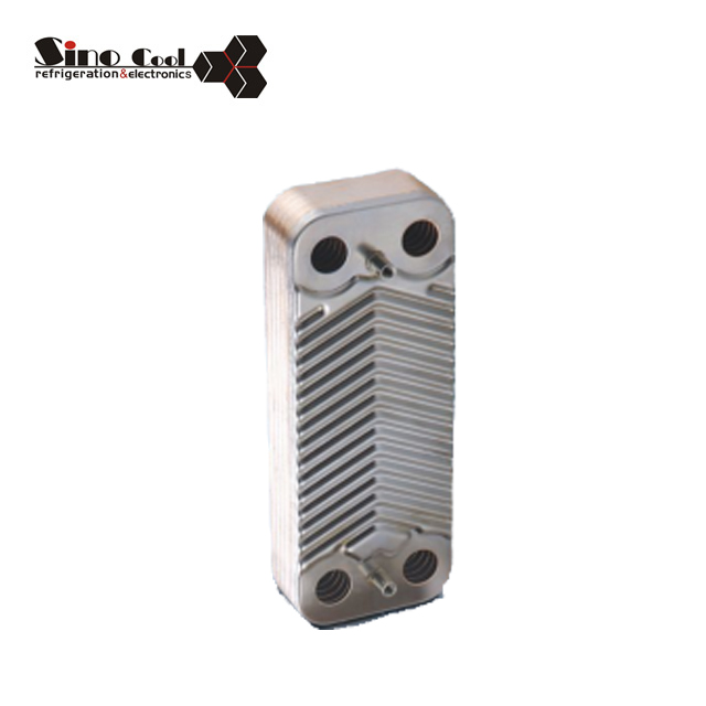 Heat exchanger freon water B3-012