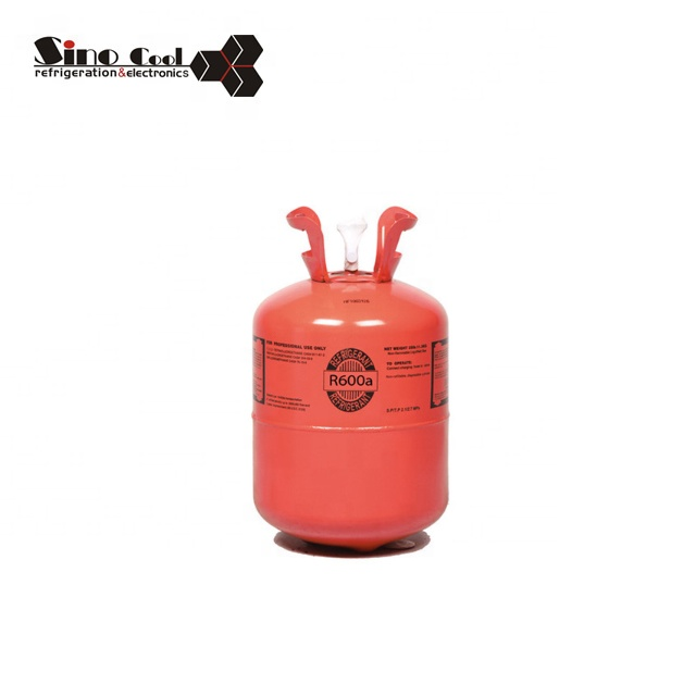 China refrigerant gas R600a with good price gas