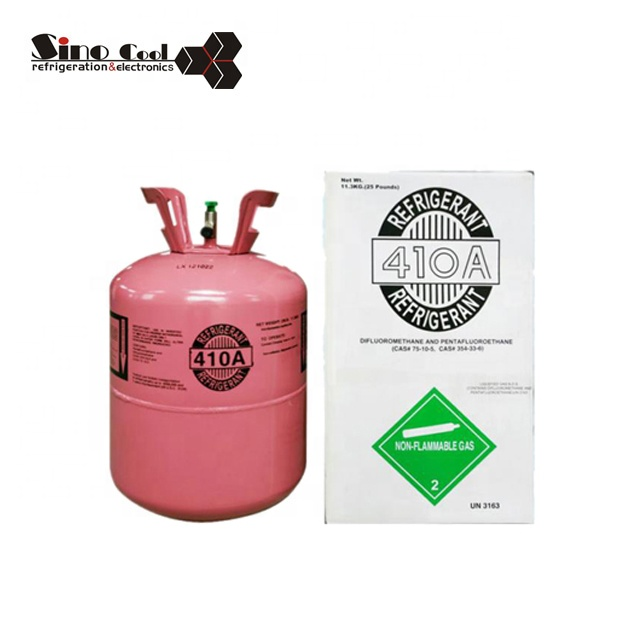 Factory price R410a refrigerant gas