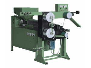 Coating machines for pile weather strips