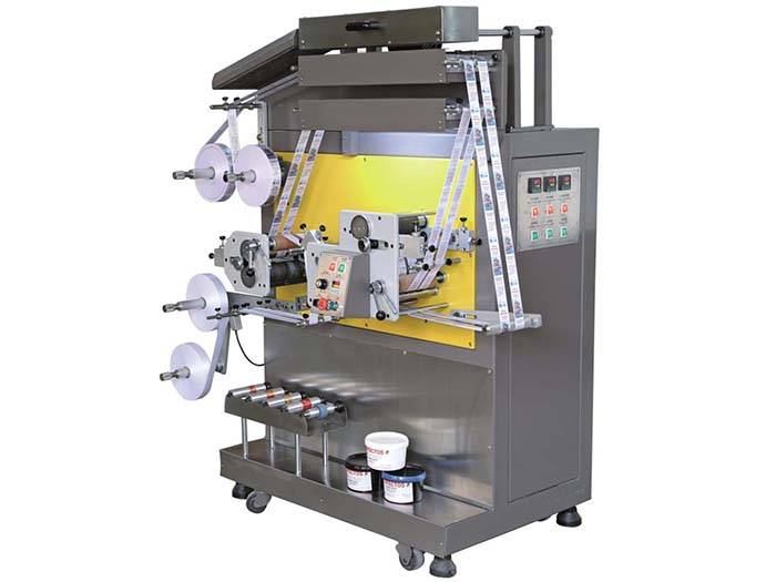 Hot New Products Finishing Maching For Velcro Tapes -