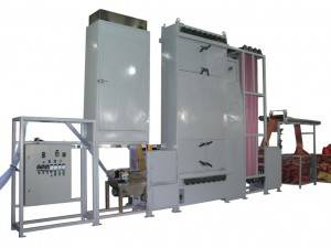 Finishing Machines for synthetic webbing