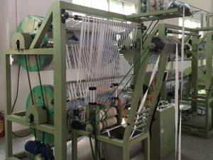 Finishing Machines for elastic rigid narrow fabric