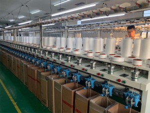 Knitting machines to make elastic straps for Masks