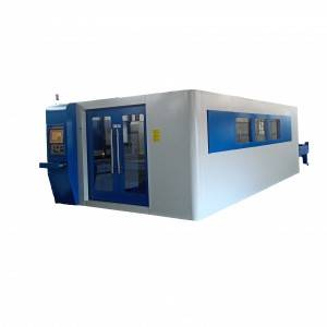 FCSJ Series Laser Cutting With Exchanged Workbench
