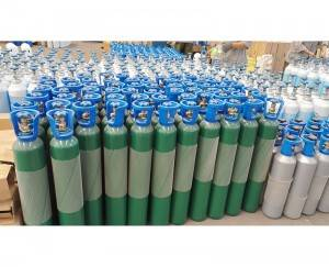 Factory Supply 99.999% Purity CF4 40L 25kg Carbon Tetrafluoride