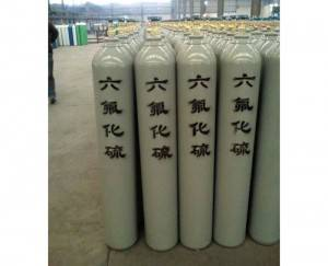 99,99% Sulphur Industrial hexafluoride Gas