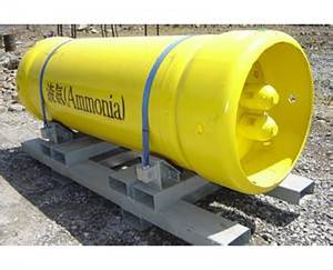 Ammonia cylinders Filled NH3 Gas