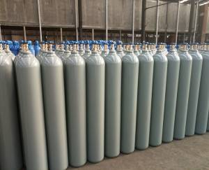 Seamless Steel Carbon Monoxide Gas Cylinder CO Gas