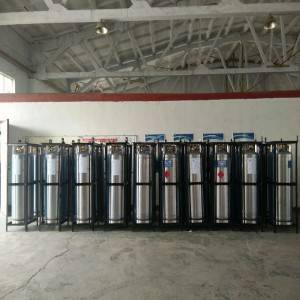 China OEM Mini Co2 Tank 10 Litre Co2 Gas Cylinder