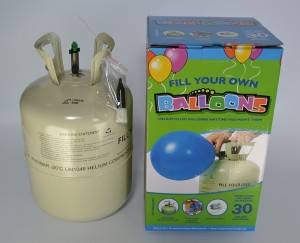 Pabrika Supply 13.4L Disposable helium Tank