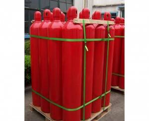 Low Prezzo Gas Methane 40L 150bar Cù 99,999% Purezza CH4 Gas