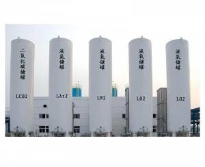 Liquid oxygen argon nitrogen CO2 LNG N2O storage tank