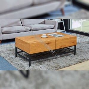 MERICK-CT Coffee Table With Oak Paper Veneer