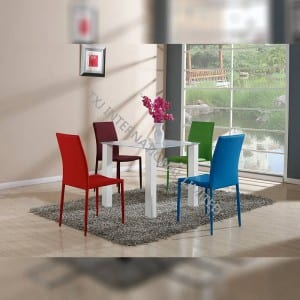 High definition Wood Furniture Dining Chairs - CTD-007A Tempered Glass Dining Table – TXJ