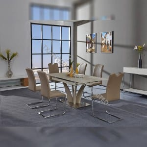Personlized Products Round Wire Coffee Table - BD-1761 Tempered Glass Extension Table – TXJ