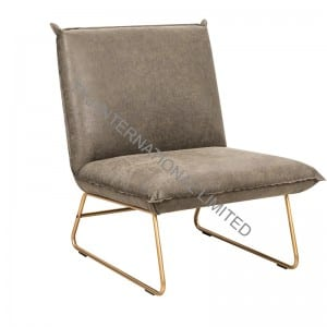 NINA Leisure Chair With Fabric Upholstery