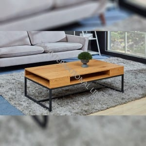 TT-1853  MDF Coffee Table with Oak Paper Veneer