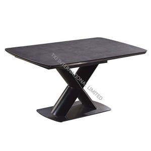 LILIA-DT Extension Table,MDF with Ceramic