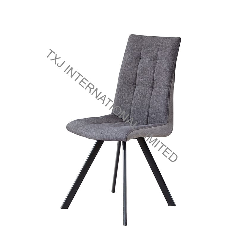 BC-1731 Fabric Dining Chair With Black color tube Featured Image
