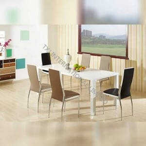 PRIMA MDF Extension White Table