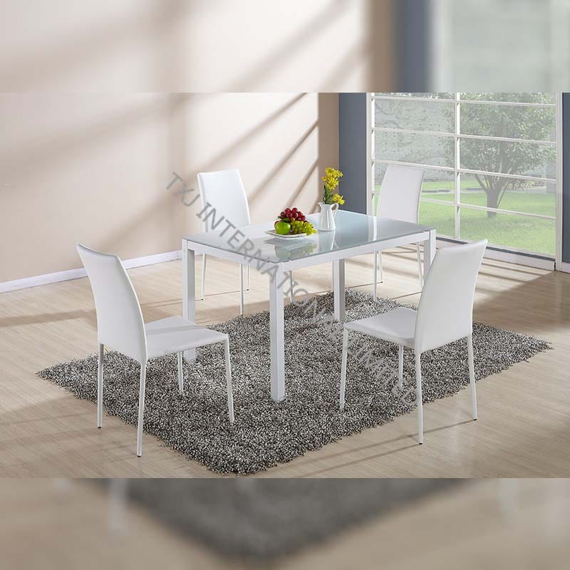 China Online Exporter Glass Top Marble Coffee Table Bd 1401 Dining Table Tempered Glass Dining Table With 4 Chairs Set Txj Manufacturers And Suppliers Txj