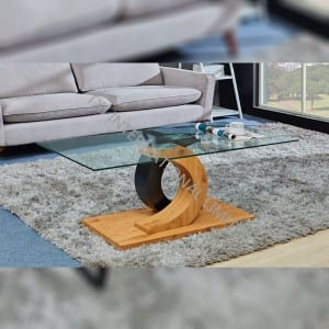 TT-1799 Tempered Glass Coffee Table