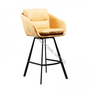 ERICA-BS Fabric Barstool For Kitchen Room