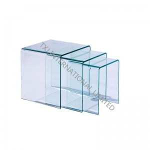 Ro-1 Bent Glass kofi Table