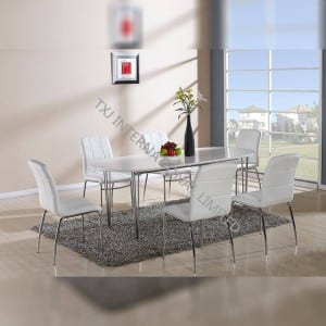 Factory wholesale Amazon Cheap Dining Chair - PURE-DT MDF Extension Table – TXJ