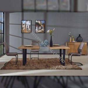 COPENHAGEN-DT Solid Wood Kitchen Room Dining Table