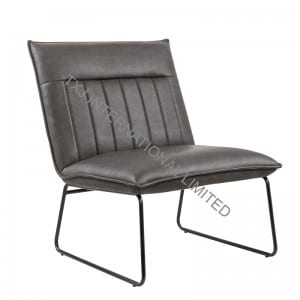 Nordic Relax Chair with antique PU