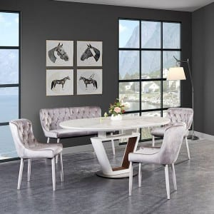 LAVIDA Extension Table, MDF With Ceramic Top