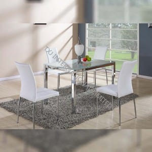BD-1403 Tempered Glass Dining Table