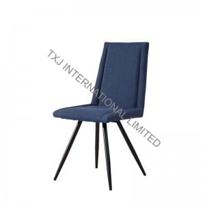 New Delivery for Square Coffee Tables - BC-1730 Fabric Dining Chair With Black color tube – TXJ