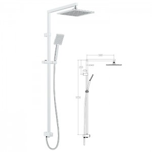 CE shower set L0401 shower column