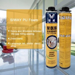 China New Product  Siway PU FOAM for Thailand Manufacturers