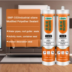 Big discounting SMP-333 Industrial silane modified polyether sealant to Cape Town Manufacturer