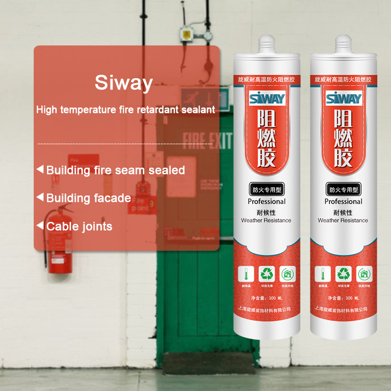 High Performance  SV-9300 Fire Resistant Silicone Sealant to Argentina Factories