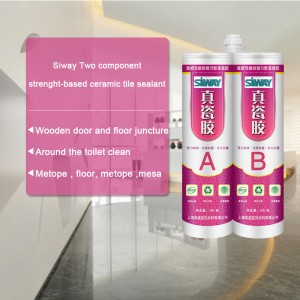 professional factory provide Siway two component strength-basded ceramic tile sealant to Pretoria Factories