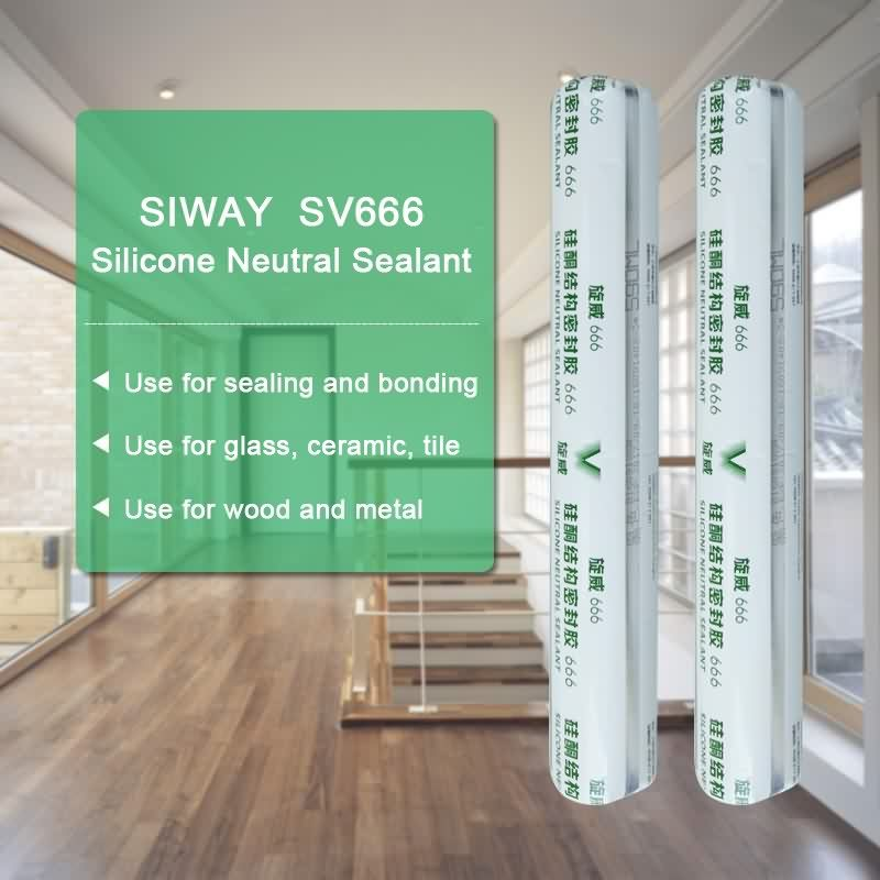 Factory provide nice price SV-666 General Use Neutral Sealant for Montpellier Factory